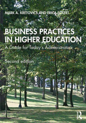Business Practices in Higher Education A Guide for Today's Administrators book cover