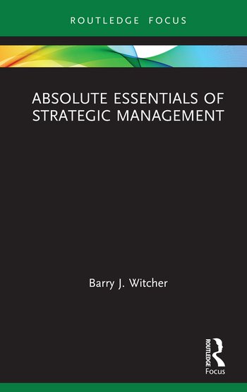 Absolute Essentials of Strategic Management book cover