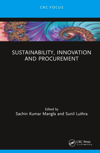 Sustainability, Innovation and Procurement book cover