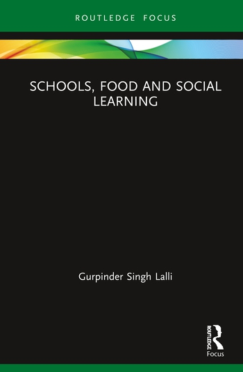 Schools, Food and Social Learning book cover