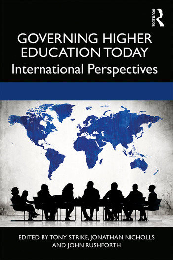 Governing Higher Education Today International Perspectives book cover