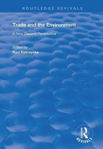 Trade and the Environment A New Zealand Perspective book cover