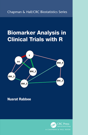 Biomarker Analysis in Clinical Trials with R book cover
