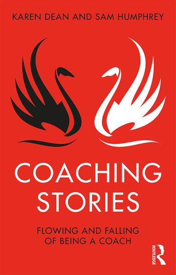 Coaching Stories Flowing and Falling of Being a Coach book cover