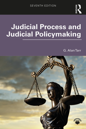 Judicial Process and Judicial Policymaking book cover