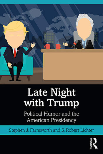 Late Night with Trump Political Humor and the American Presidency book cover
