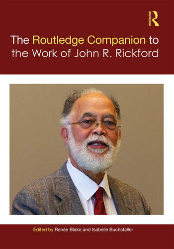 The Routledge Companion to the Work of John R. Rickford book cover