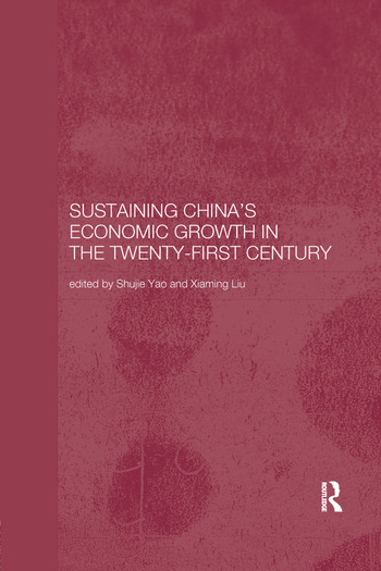 Sustaining China's Economic Growth in the Twenty-first Century book cover