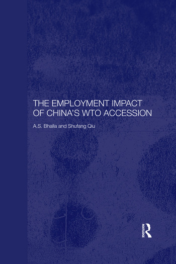 The Employment Impact of China's WTO Accession book cover