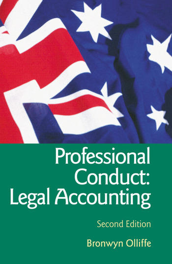 Essential Professional Conduct: Legal Accounting Second Edition book cover