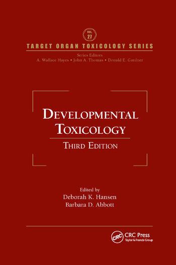Developmental Toxicology book cover