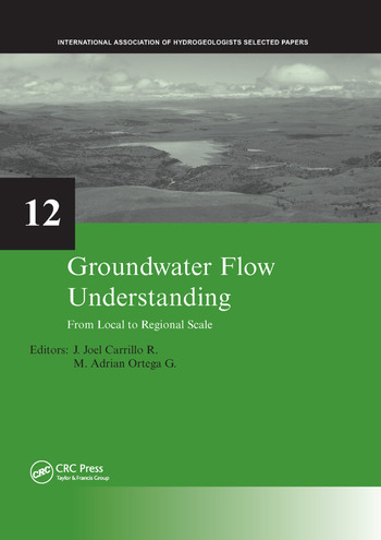 Groundwater Flow Understanding From Local to Regional Scale book cover