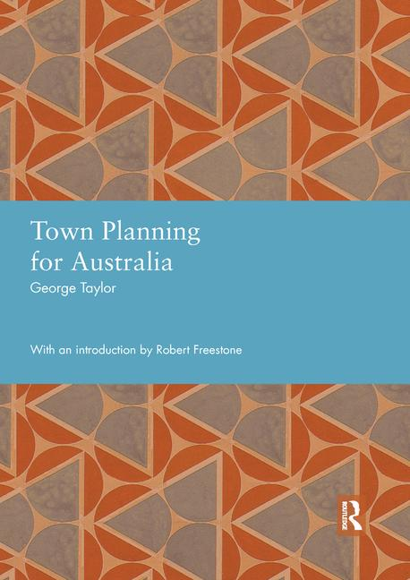 Town Planning for Australia book cover