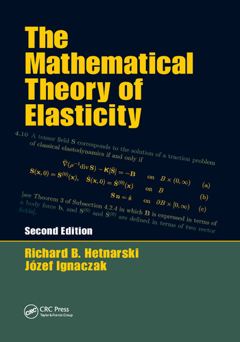 The Mathematical Theory of Elasticity book cover