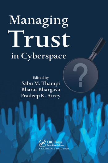 Managing Trust in Cyberspace book cover