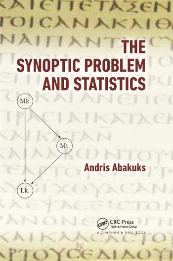 The Synoptic Problem and Statistics book cover