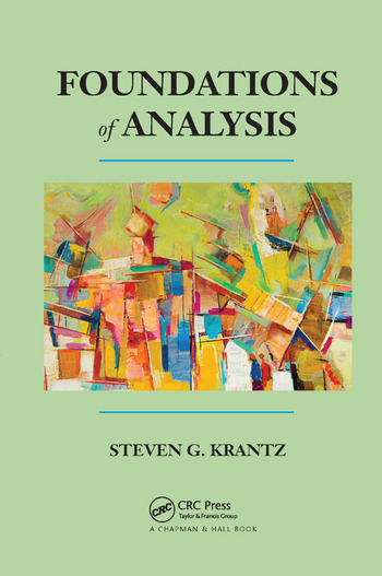 Foundations of Analysis book cover