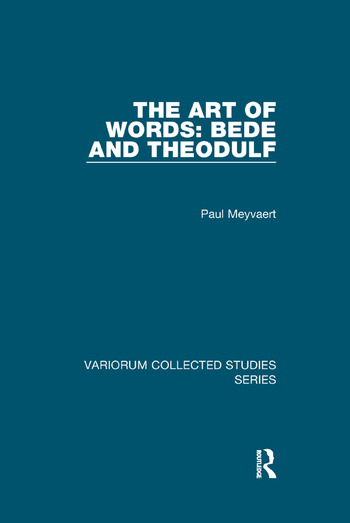 The Art of Words: Bede and Theodulf book cover