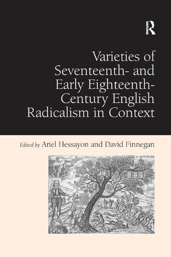 Varieties of Seventeenth- and Early Eighteenth-Century English Radicalism in Context book cover