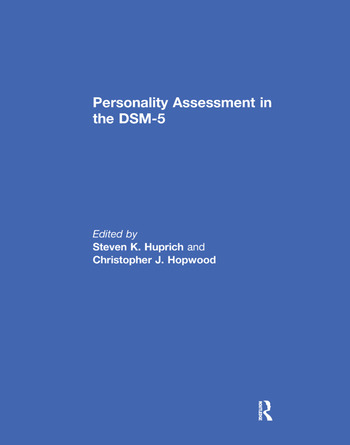 Personality Assessment in the DSM-5 book cover