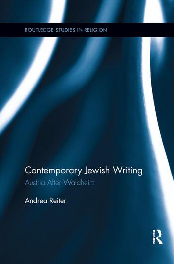 Contemporary Jewish Writing Austria After Waldheim book cover