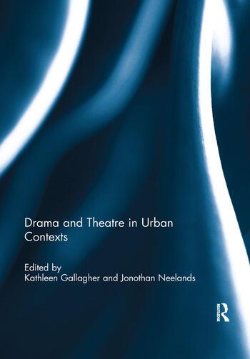 Drama and Theatre in Urban Contexts book cover