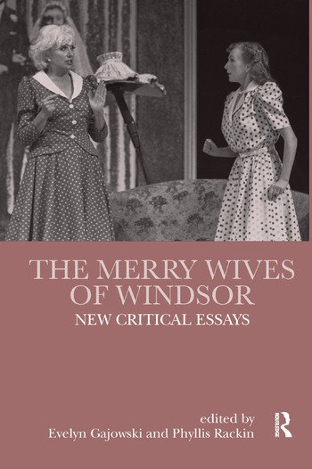 The Merry Wives of Windsor New Critical Essays book cover