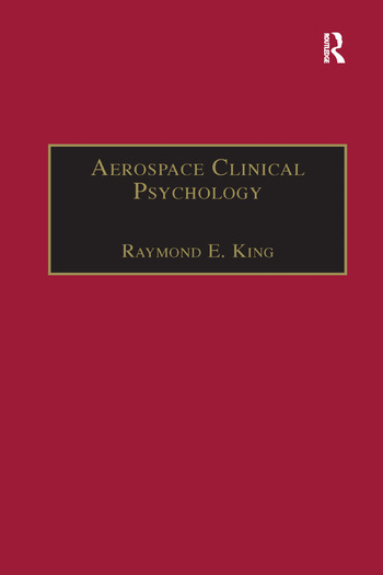 Aerospace Clinical Psychology book cover