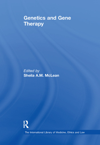 Genetics and Gene Therapy book cover