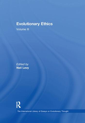 Evolutionary Ethics Volume III book cover