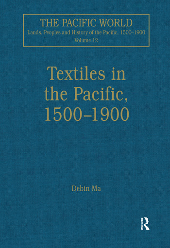 Textiles in the Pacific, 1500–1900 book cover