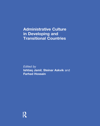 Administrative Culture in Developing and Transitional Countries book cover