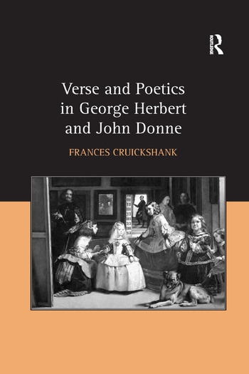 Verse and Poetics in George Herbert and John Donne book cover