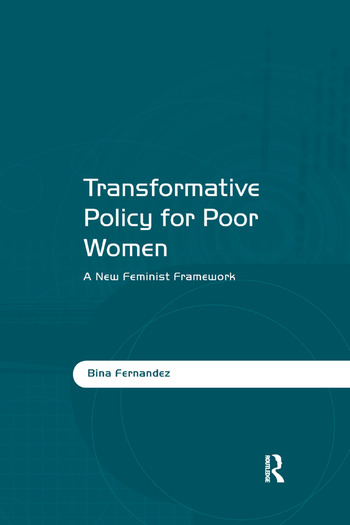 Transformative Policy for Poor Women A New Feminist Framework book cover