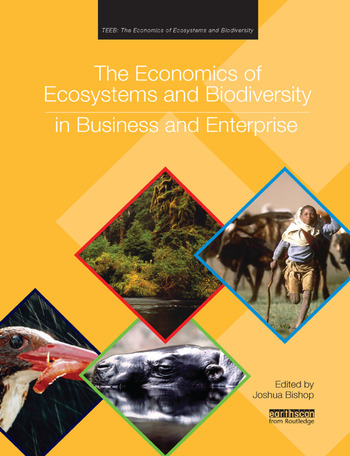 The Economics of Ecosystems and Biodiversity in Business and Enterprise book cover
