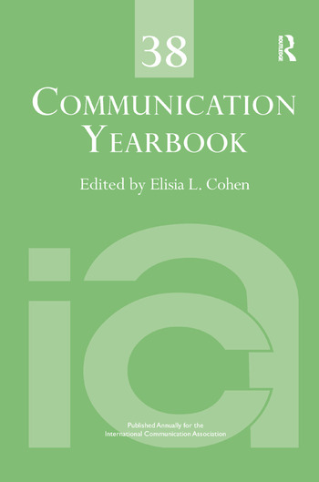 Communication Yearbook 38 book cover
