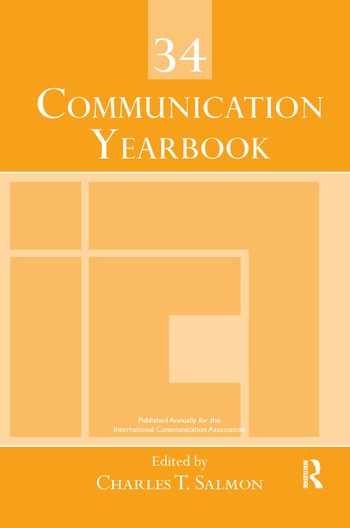 Communication Yearbook 34 book cover