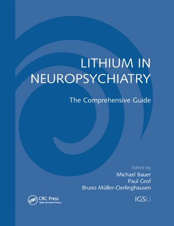 Lithium in Neuropsychiatry The Comprehensive Guide book cover