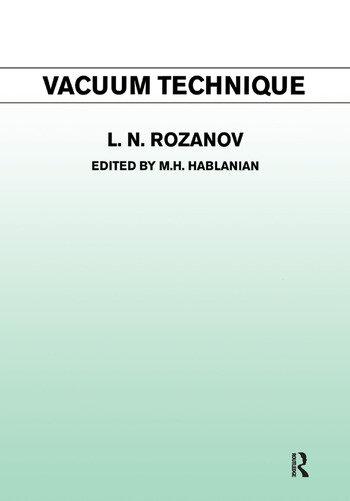 Vacuum Technique book cover