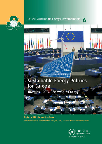 Sustainable Energy Policies for Europe Towards 100% Renewable Energy book cover