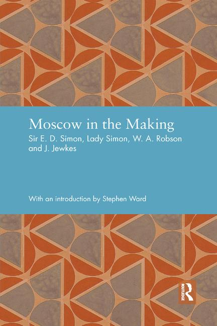 Moscow in the Making book cover