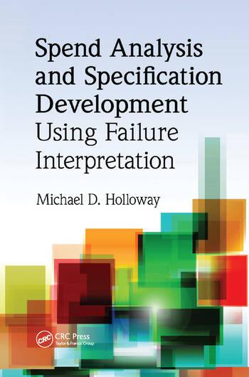 Spend Analysis and Specification Development Using Failure Interpretation book cover