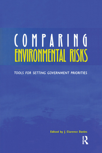 Comparing Environmental Risks Tools for Setting Government Priorities book cover