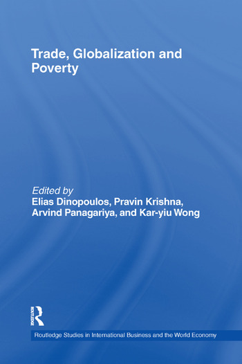 Trade, Globalization and Poverty book cover