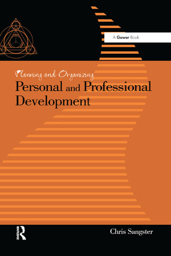 Planning and Organizing Personal and Professional Development book cover