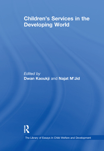 Children's Services in the Developing World book cover