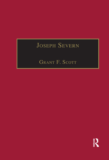 Joseph Severn Letters and Memoirs book cover