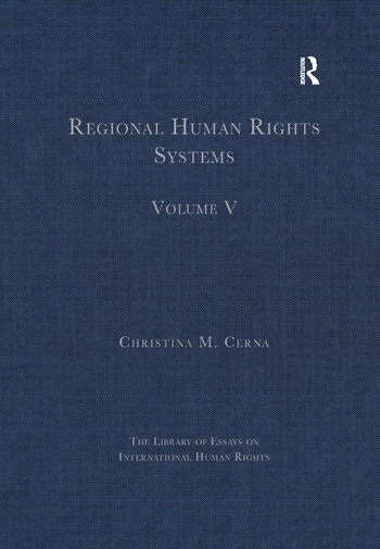 Regional Human Rights Systems Volume V book cover