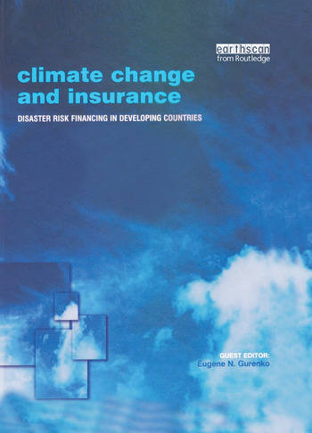 Climate Change and Insurance Disaster Risk Financing in Developing Countries book cover