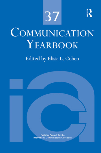 Communication Yearbook 37 book cover